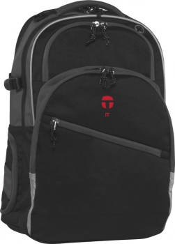 Schulrucksack TAKE IT EASY HELSINKI COMBI BLACK/DARK GREY