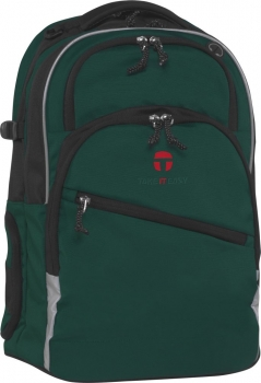 Rucksack Take it easy Helsinki darkgreen